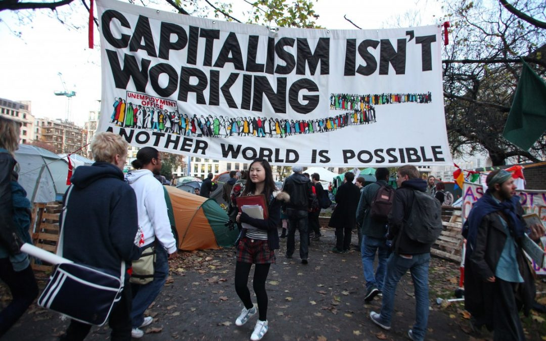 Capitalism is in crisis. It cannot be business as usual for very much longer