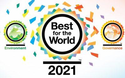 2021 對世界最好的企業